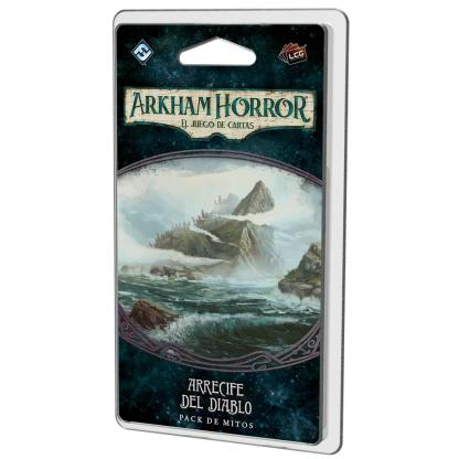 ugi games toys fantasy flight arkham horror lcg juego cartas español pack arrecife diablo