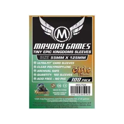 ugi games toys mayday custom tiny epic kingdoms card sleeves 88 125 7129 fundas cartas estandar