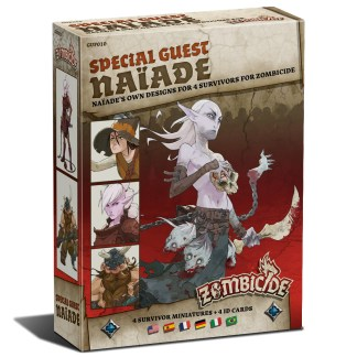 ugi games toys cmon limited zombicide black plague special guest naiade miniatures
