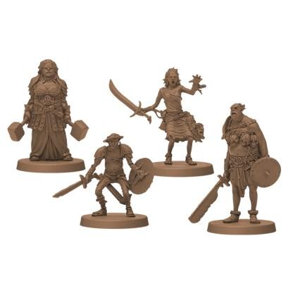 ugi games toys cmon limited zombicide black plague special guest gipi miniatures