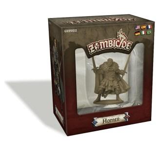 ugi games toys cmon limited zombicide black plague homer miniature