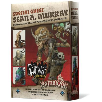 ugi games toys cmon limited zombicide green horde special guest sean murray miniaturas