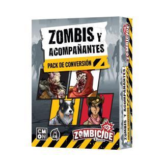 ugi games toys cmon limited zombicide juego mesa español expansion zombis acompañantes pack conversion