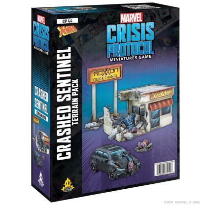 ugi games toys atomic mass marvel crisis protocol english miniature crashed sentinel terrain expansion