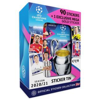 ugi games toys topps ucl uefa champions league cromos futbol español mini lata pegatinas