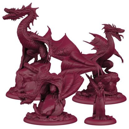 ugi games toys cmon limited cancion hielo fuego song fire ice miniatures mother dragons madre dragones