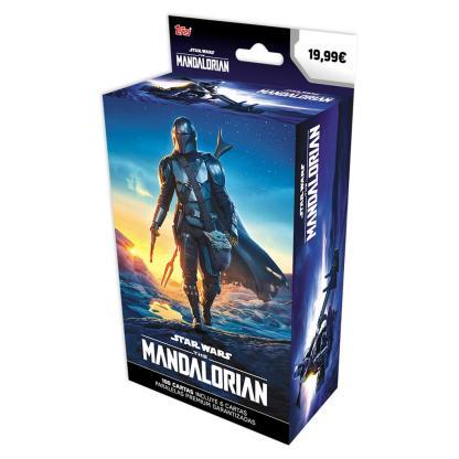 ugi games toys topps the mandalorian caja premium star wars cromos español