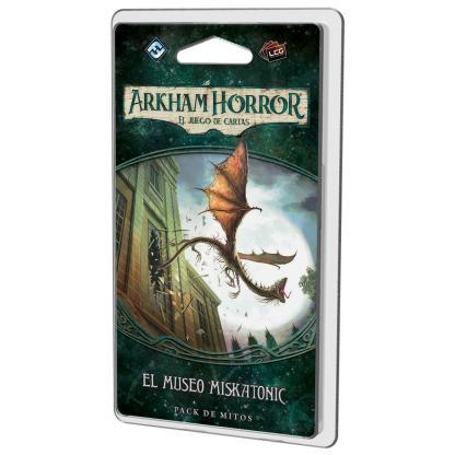 ugi games toys fantasy flight arkham horror lcg juego cartas español pack mitos legado dunwich museo miskatonic