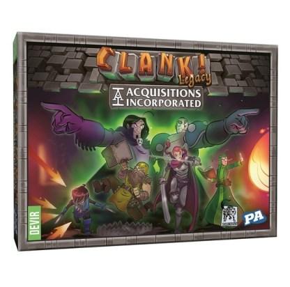 ugi games toys devir clank legacy acquisition incorporated juego mesa cartas español