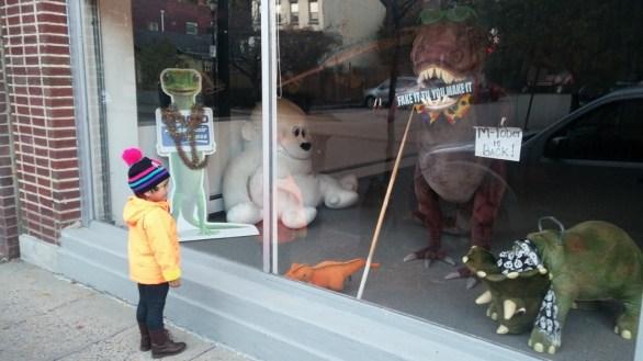 Bopps meets dinosaurs