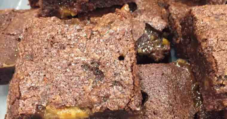 Salted caramel brownies: uglyducklingbakery bloopers