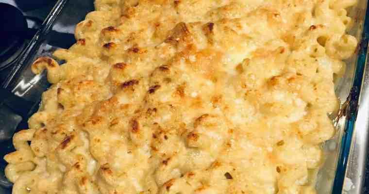 The World's Best Cavatappi Mac and Cheese