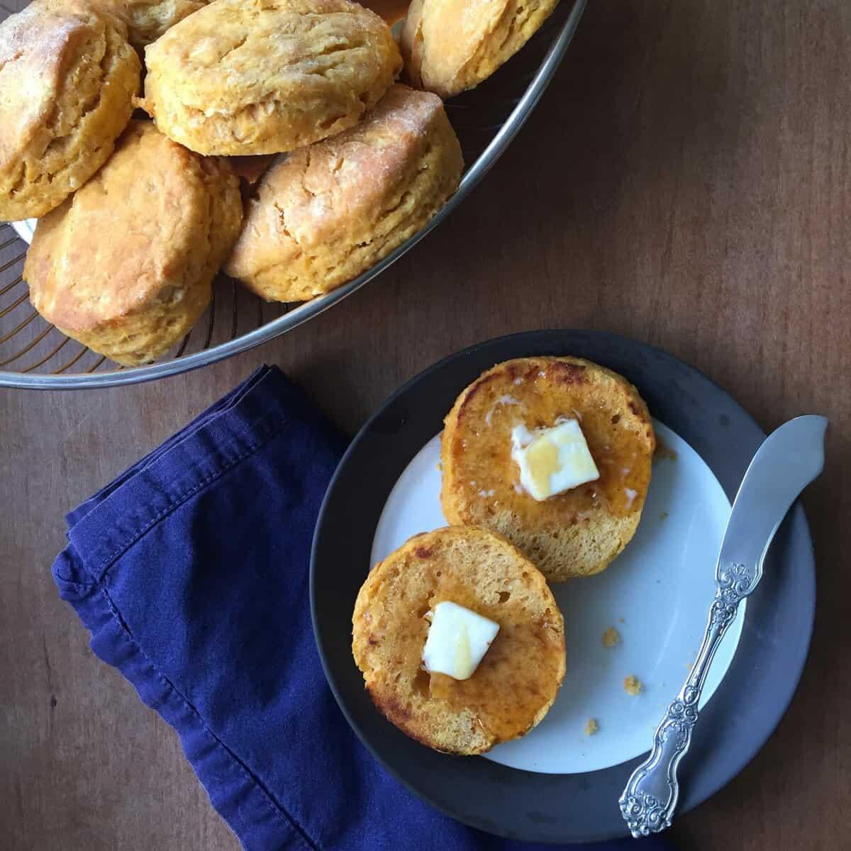 Jubilee's Sweet Potato Biscuits