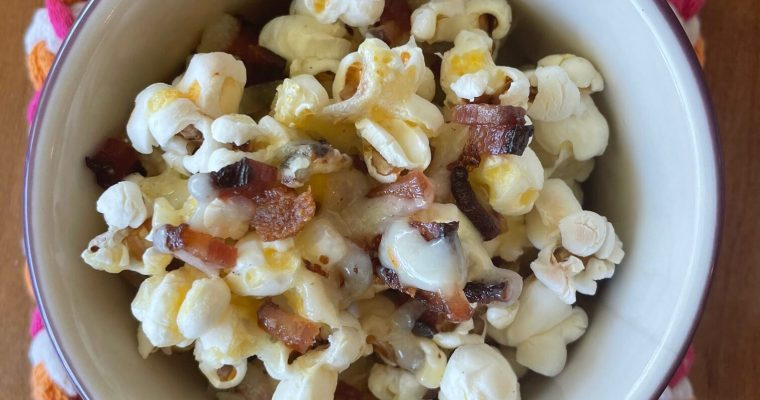 Bacon cheddar popcorn is better than nachos: prove me wrong.