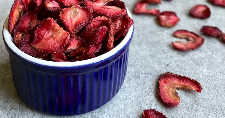 Dehydrated Strawberries (and What To Do with Dehydrated Strawberry Chips)