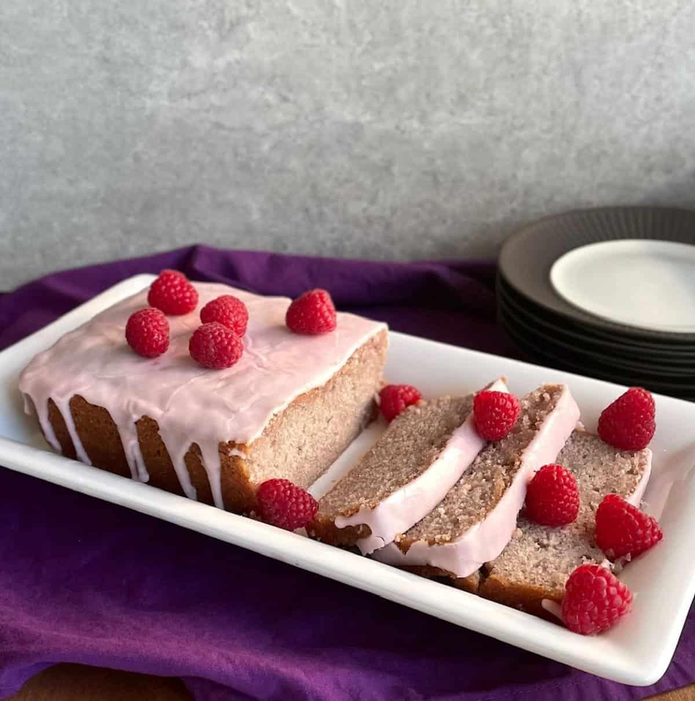 A Summer Raspberry Cake Recipe