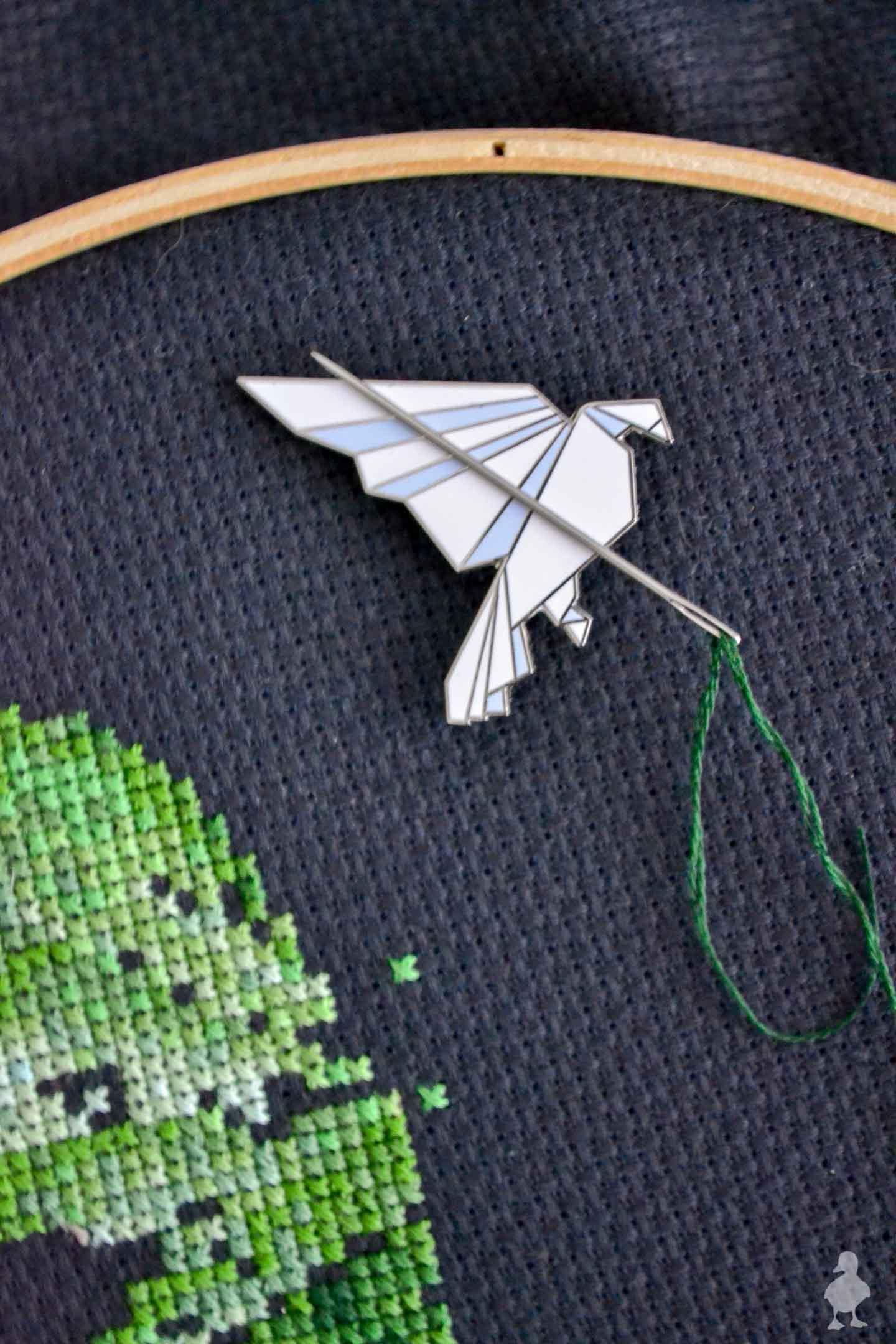Needle Minder Diy : needle, minder, Magnetic, Needle, Minder, Duckling, House