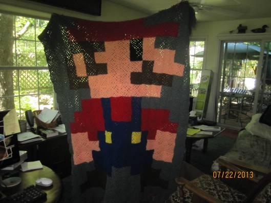 It's-a me! In-a crochet!