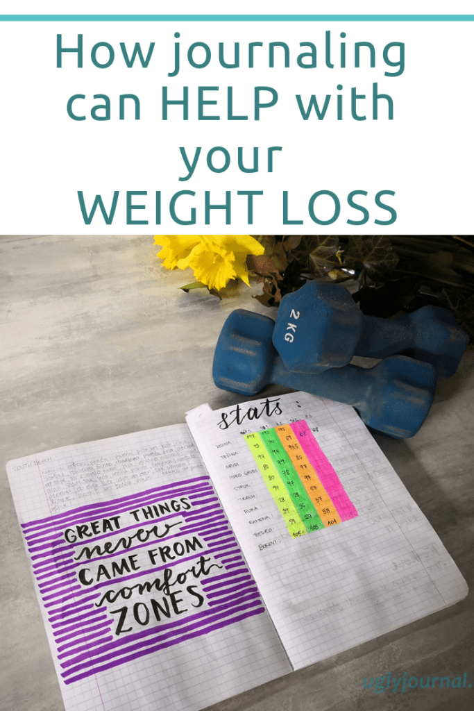 How journaling can help with your weight loss 1 - uglyjournal.com
