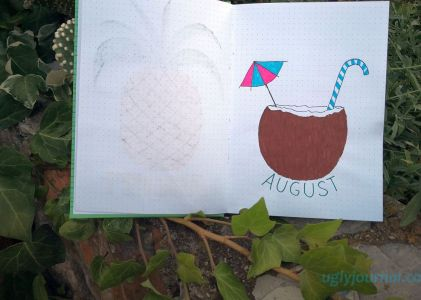 BEAUTIFUL AND SIMPLE AUGUST BULLET JOURNAL IDEAS