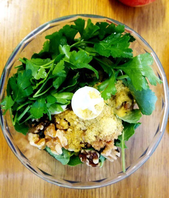 Kale Walnut Pesto Vegan