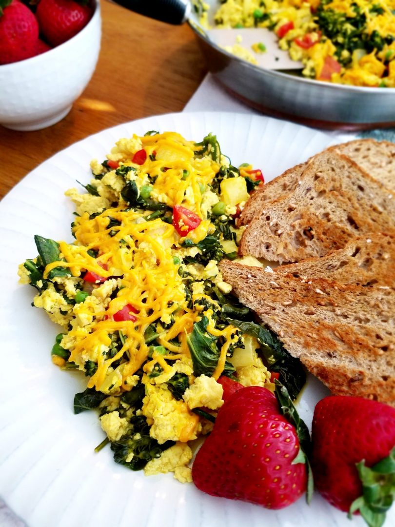 How to Make Vegan Tofu Scramble