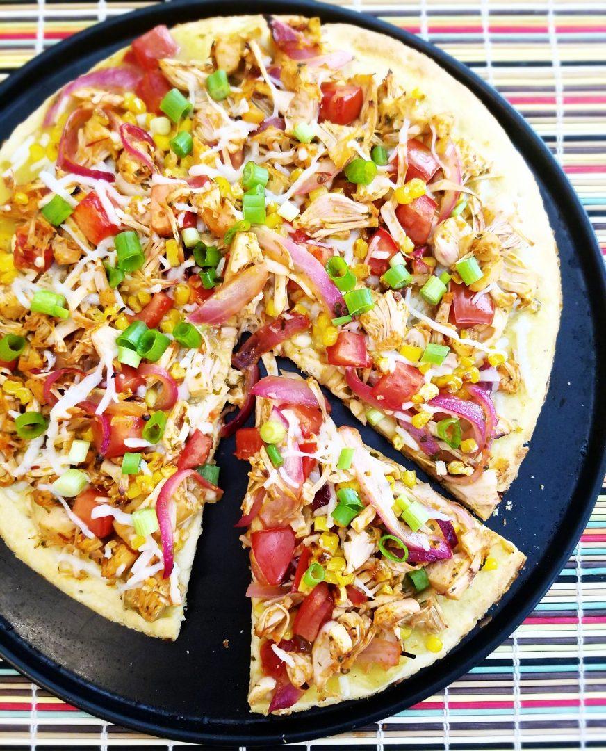 Tinned Jackfruit Pizza Recipe