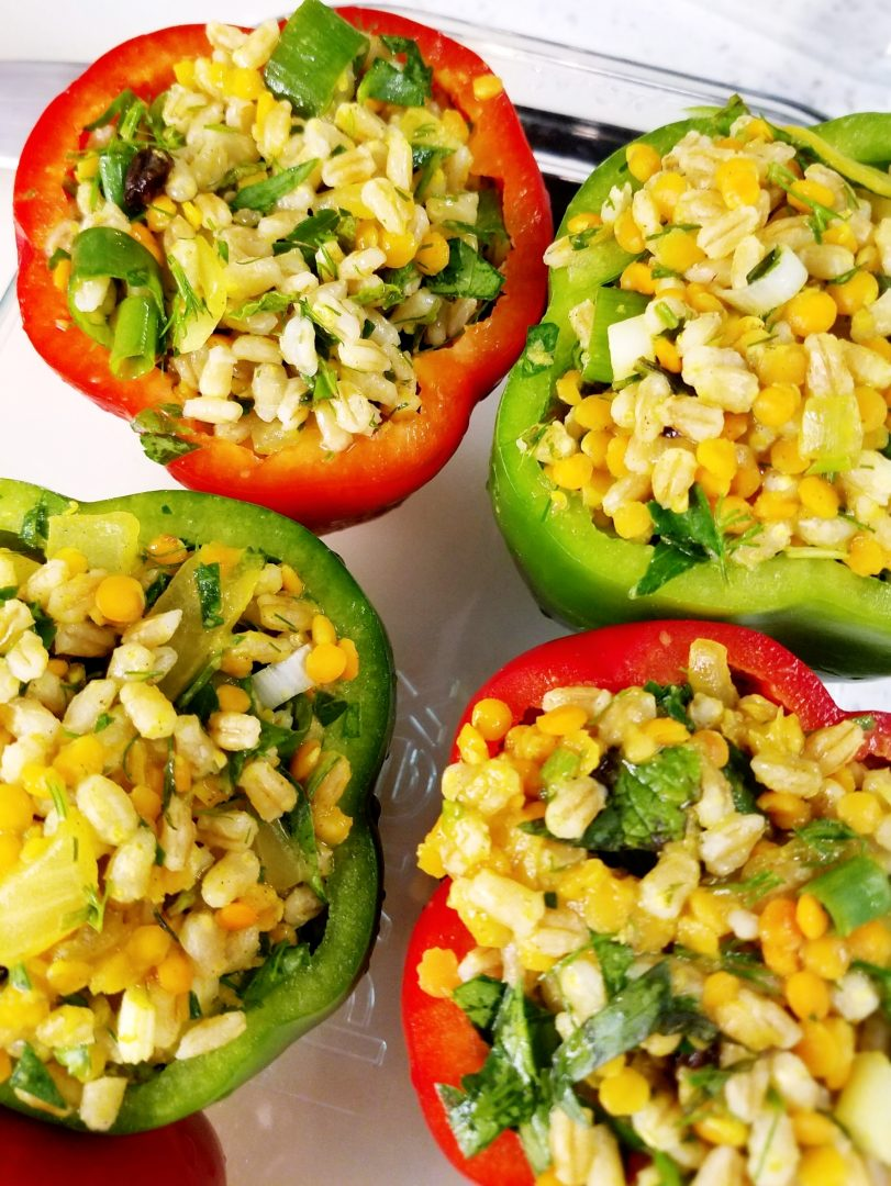 How to Make Vegan Stuffed Peppers