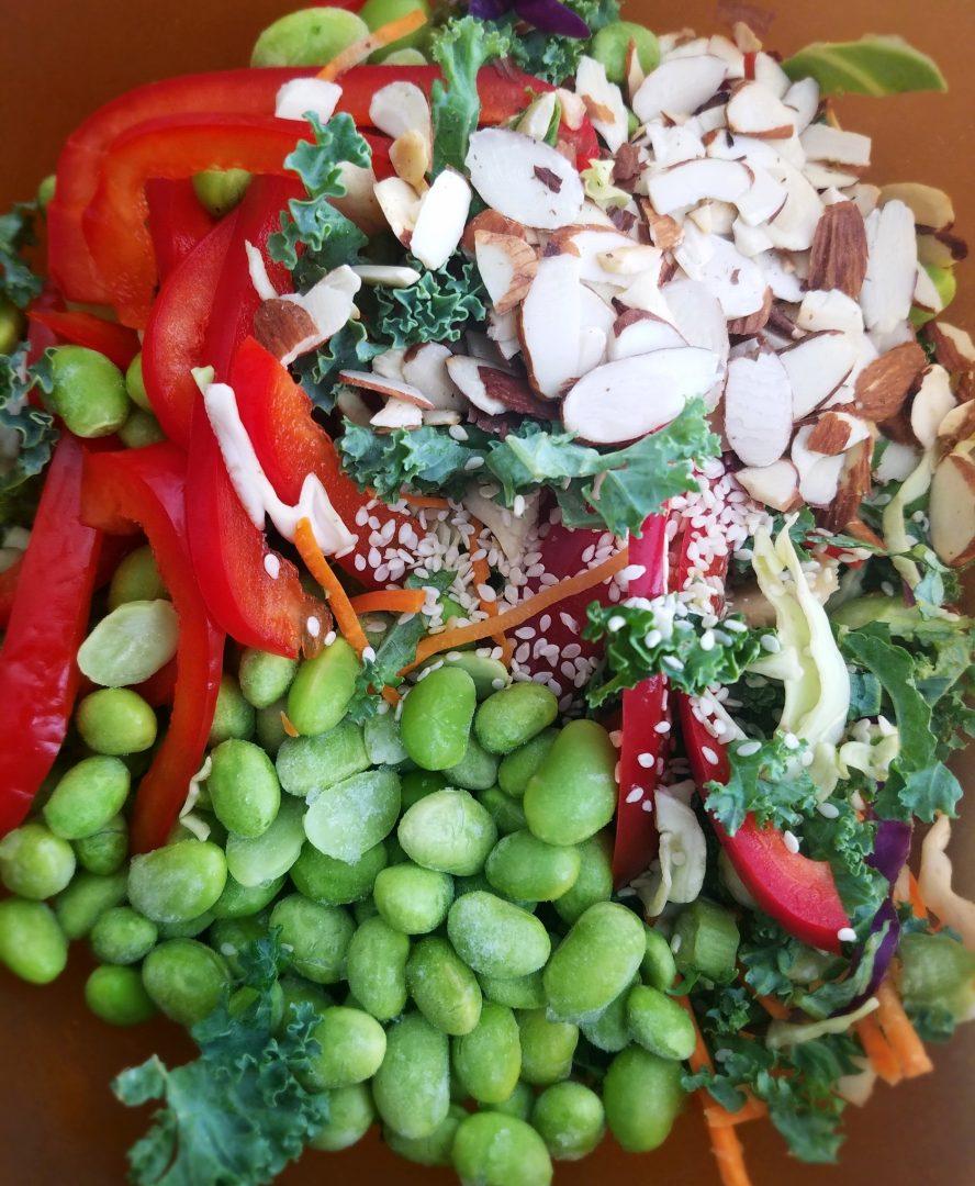 Kale Slaw No Mayo