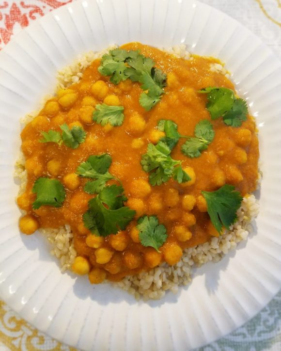 How to Make Vegan Chickpea Curry