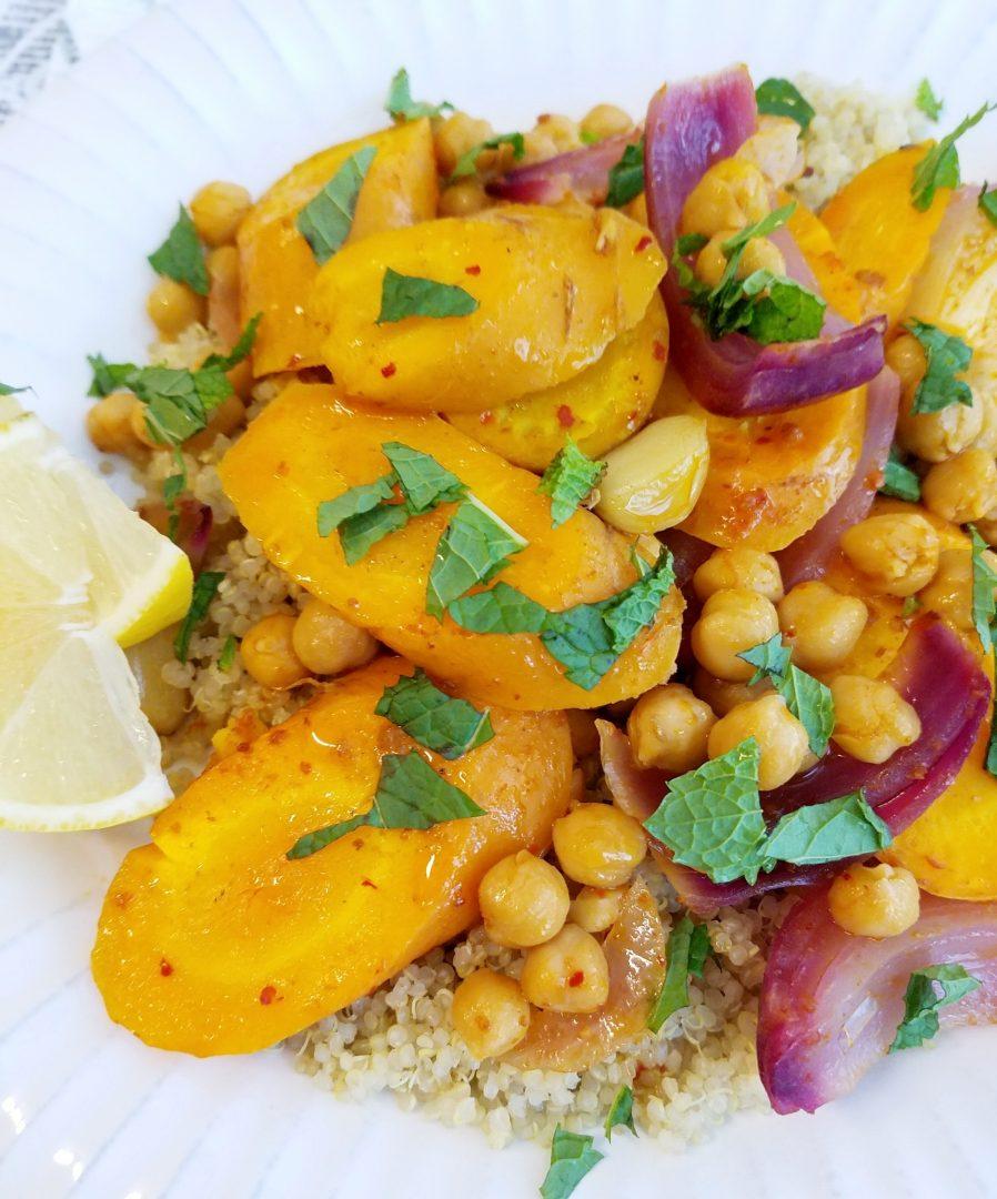 Vegan recipes with harissa paste