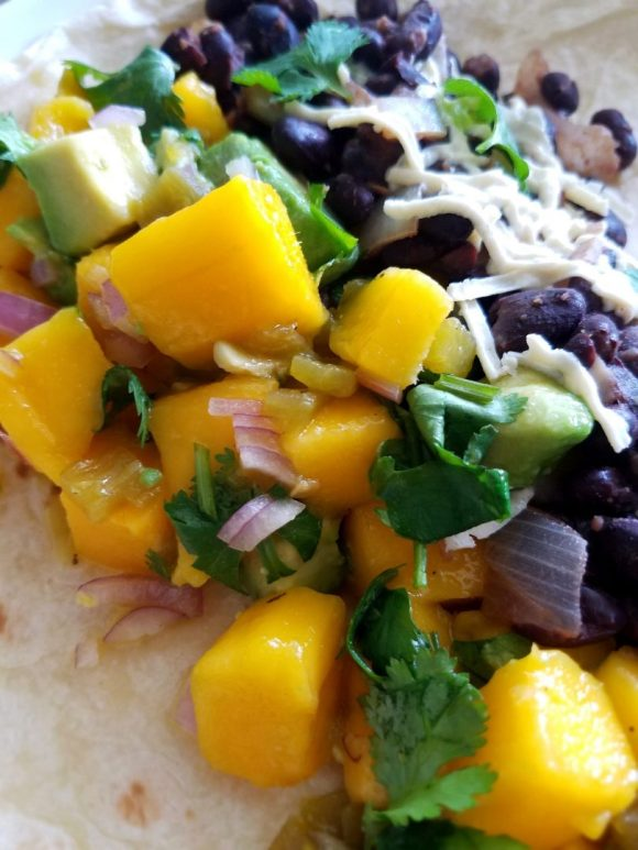 Vegan Black Bean Burritos Recipe