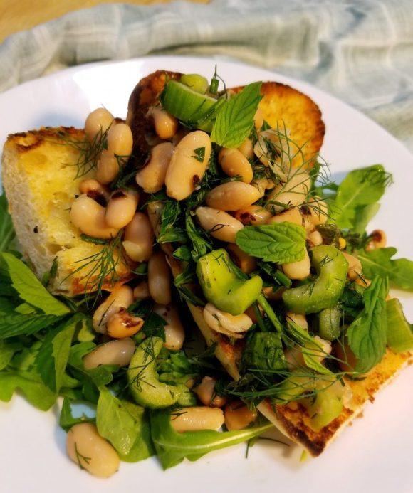 Vegetarian Black Eyed Peas Salad Recipe