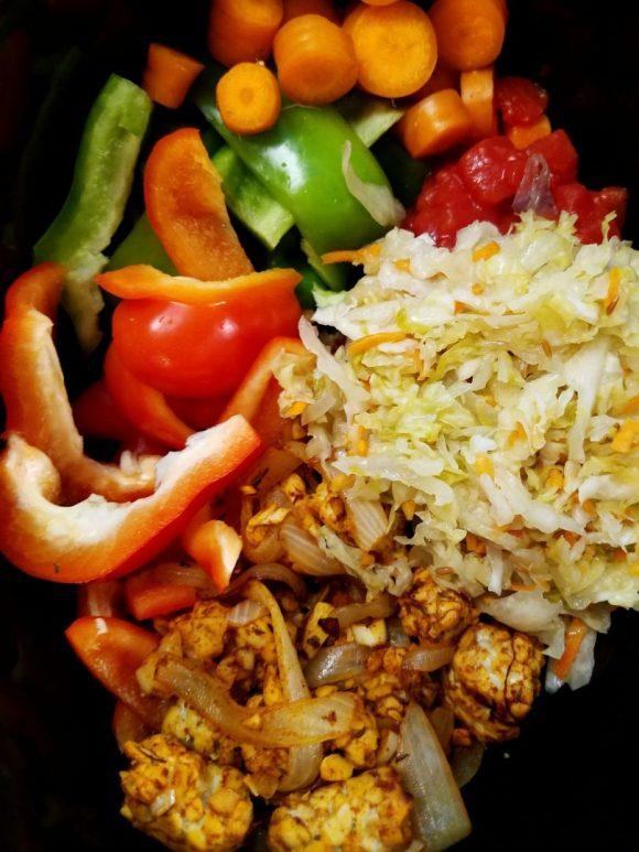 Vegan Meals with Sauerkraut