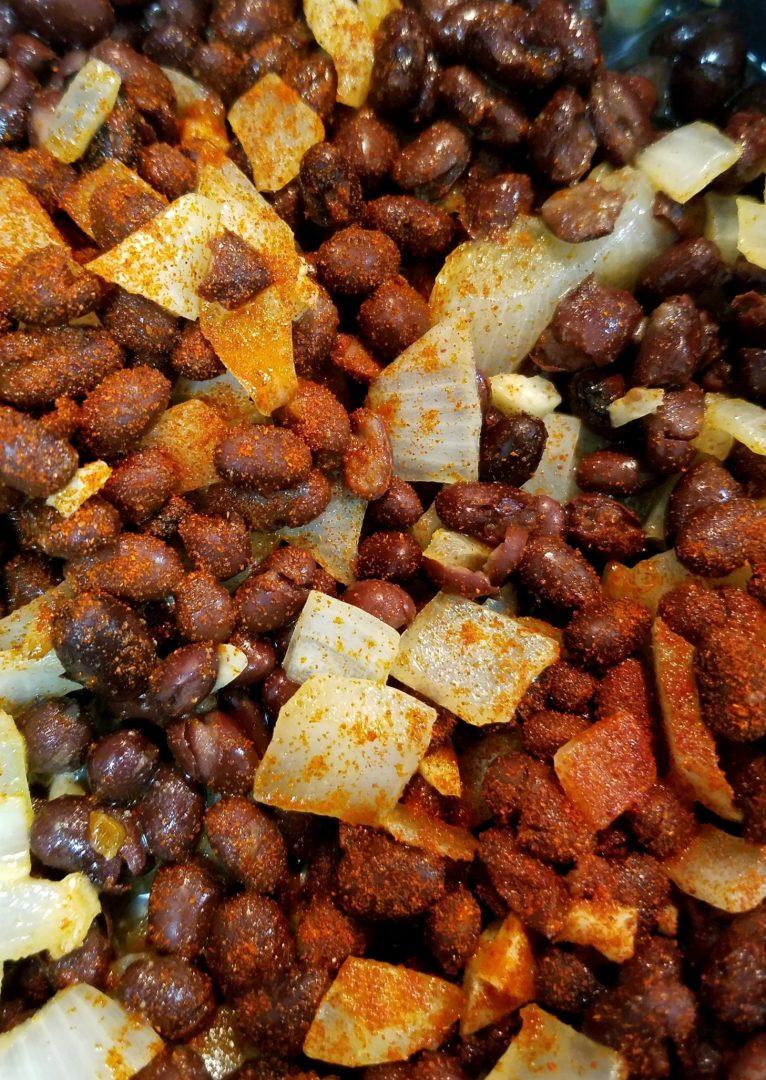 Vegan Black Bean Recipe for Burritos