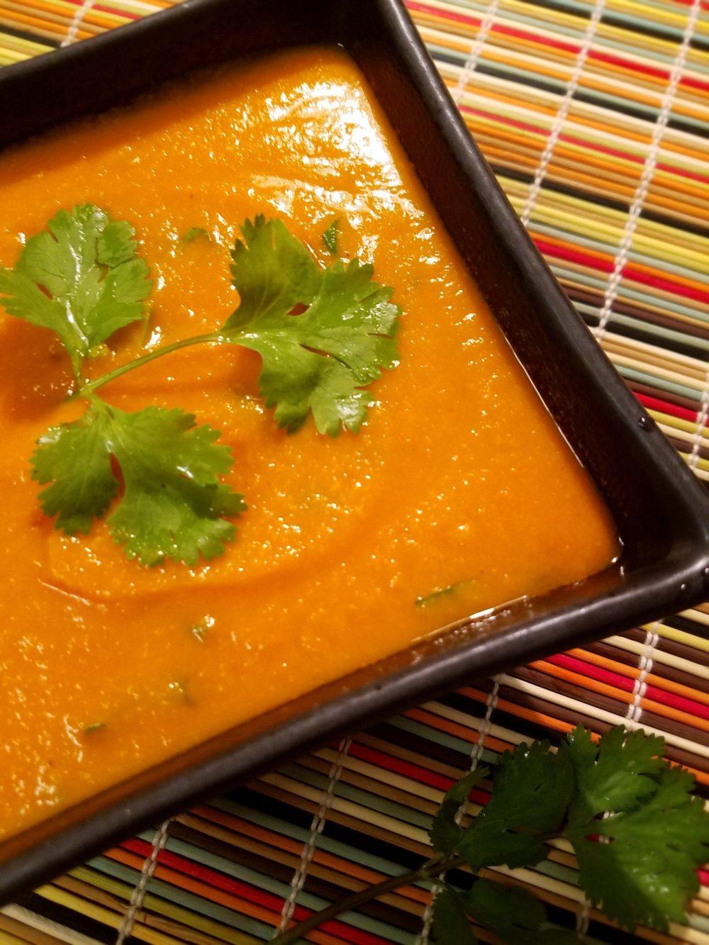 Vegan Carrot Soup Recipe Coconut Milk