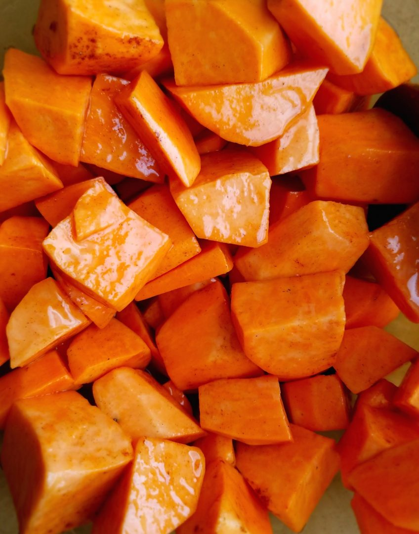 How to Make Vegan Candied Yams