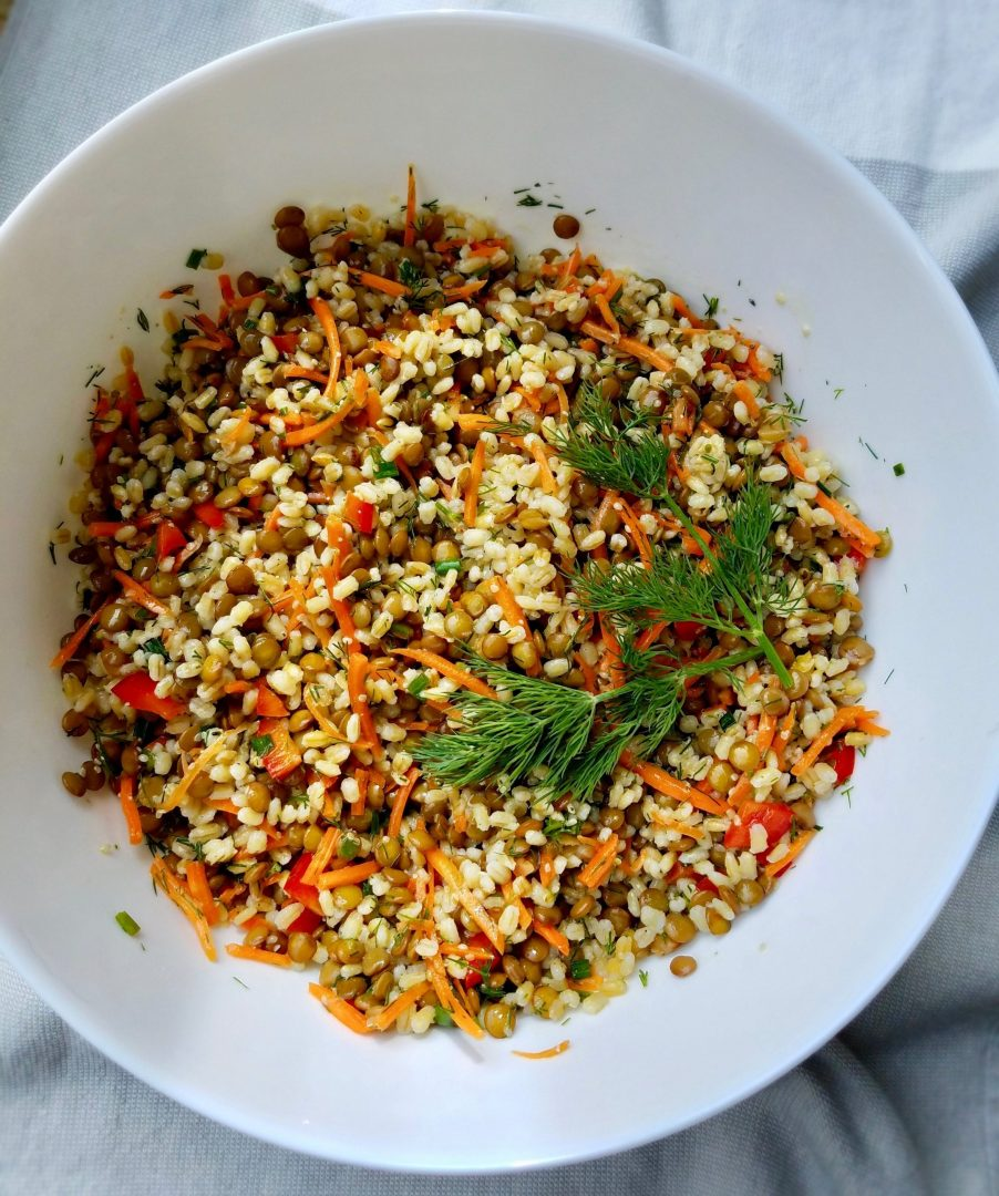 Lentil Barley Salad Recipe