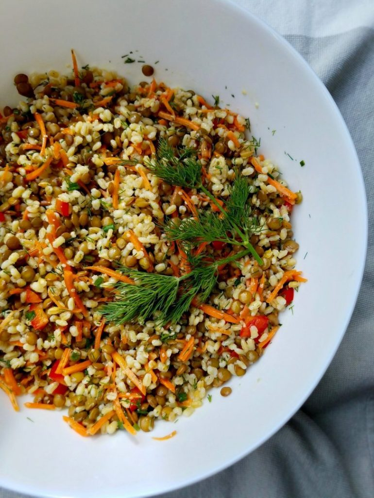 Barley Salad Recipes Vegan
