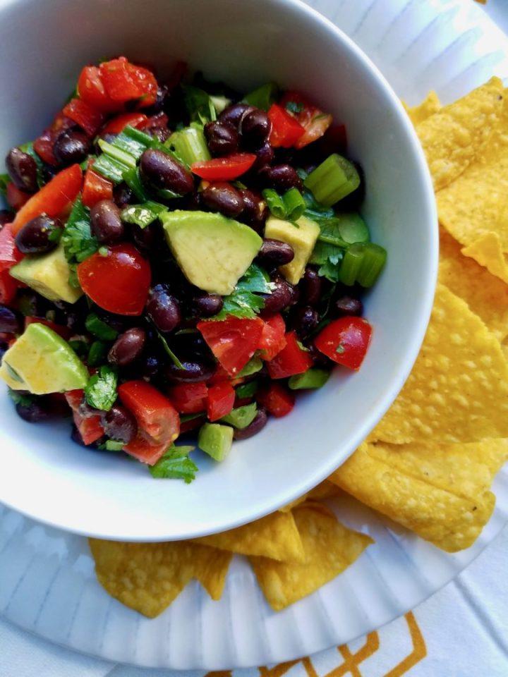 Black bean salsa vegan
