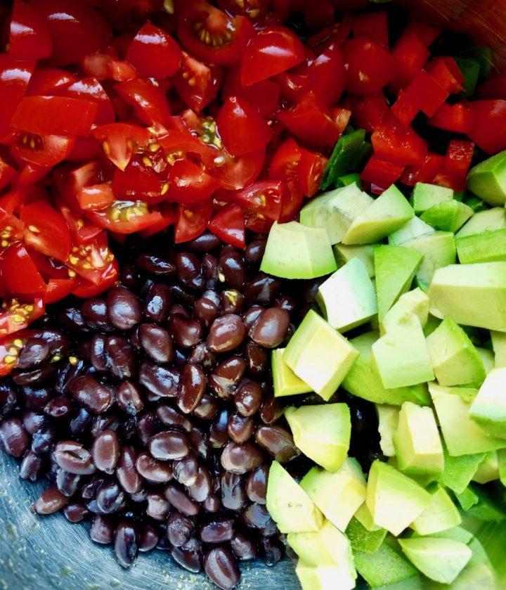 Black Bean Salsa No Corn
