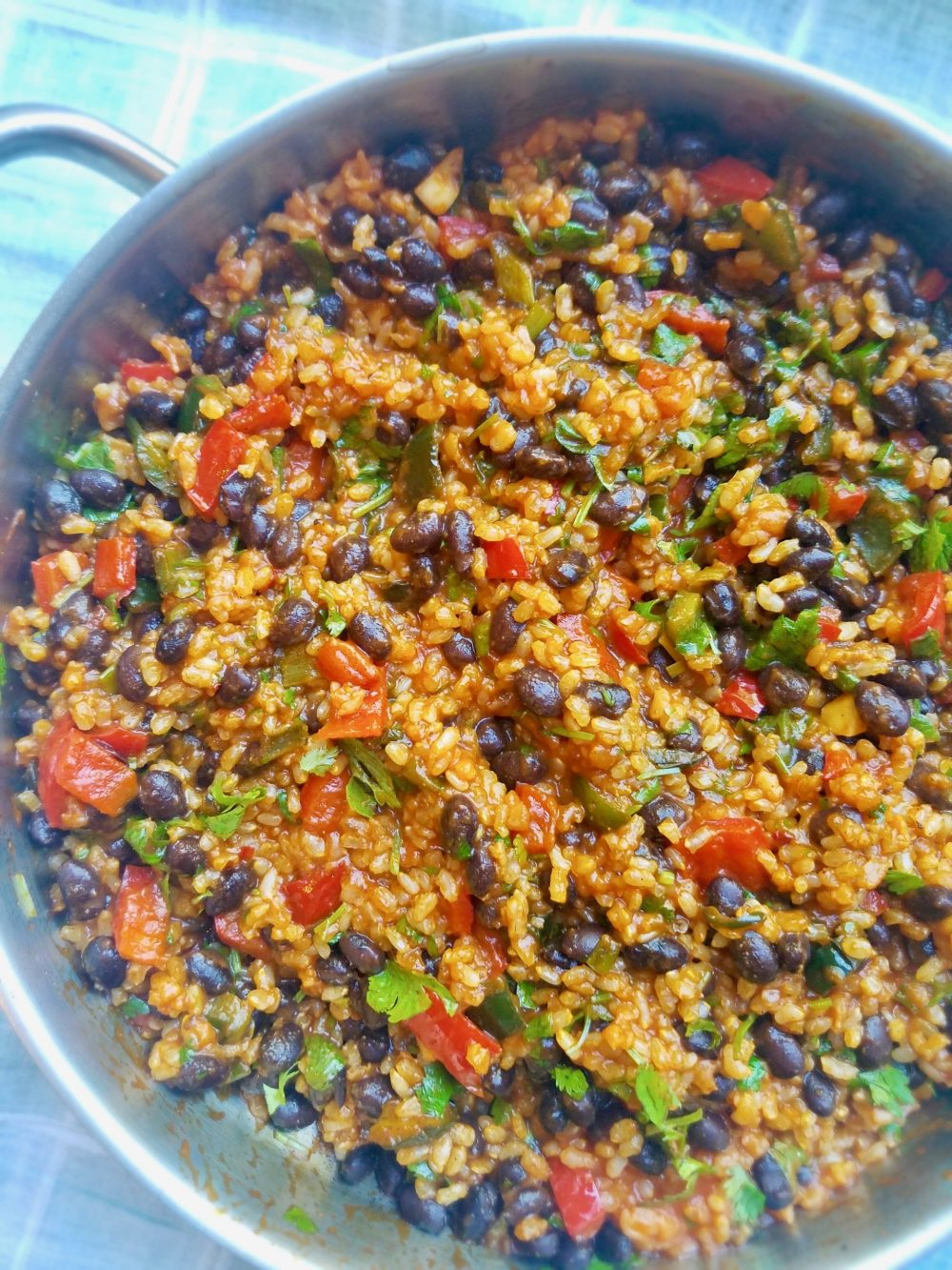 Black Beans and Rice as a Meal