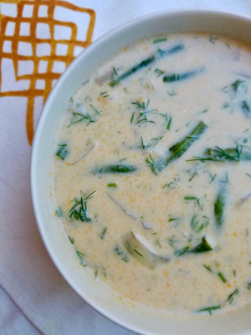 Vegan Green Bean Potato Soup