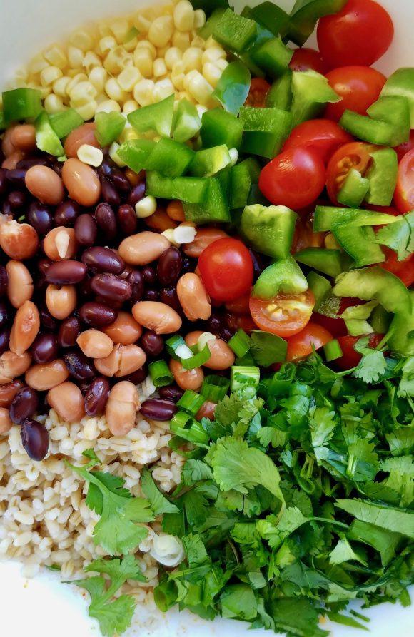 Easy Black Bean Salad with Corn