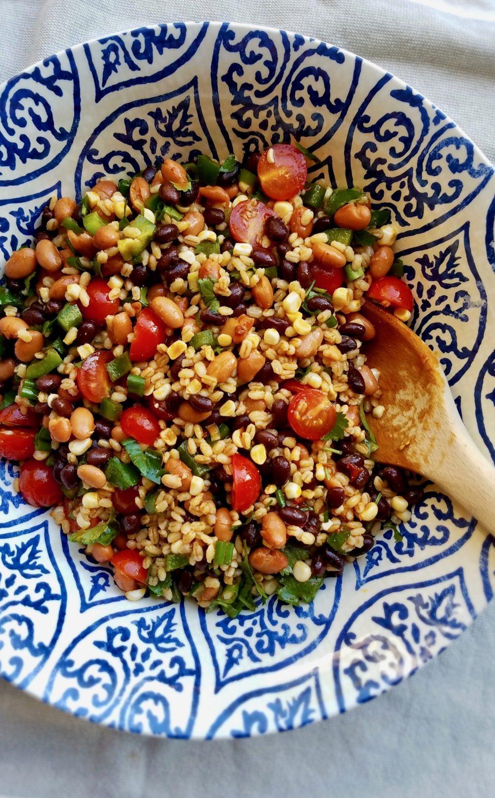 Barley Mexican Salad Recipe
