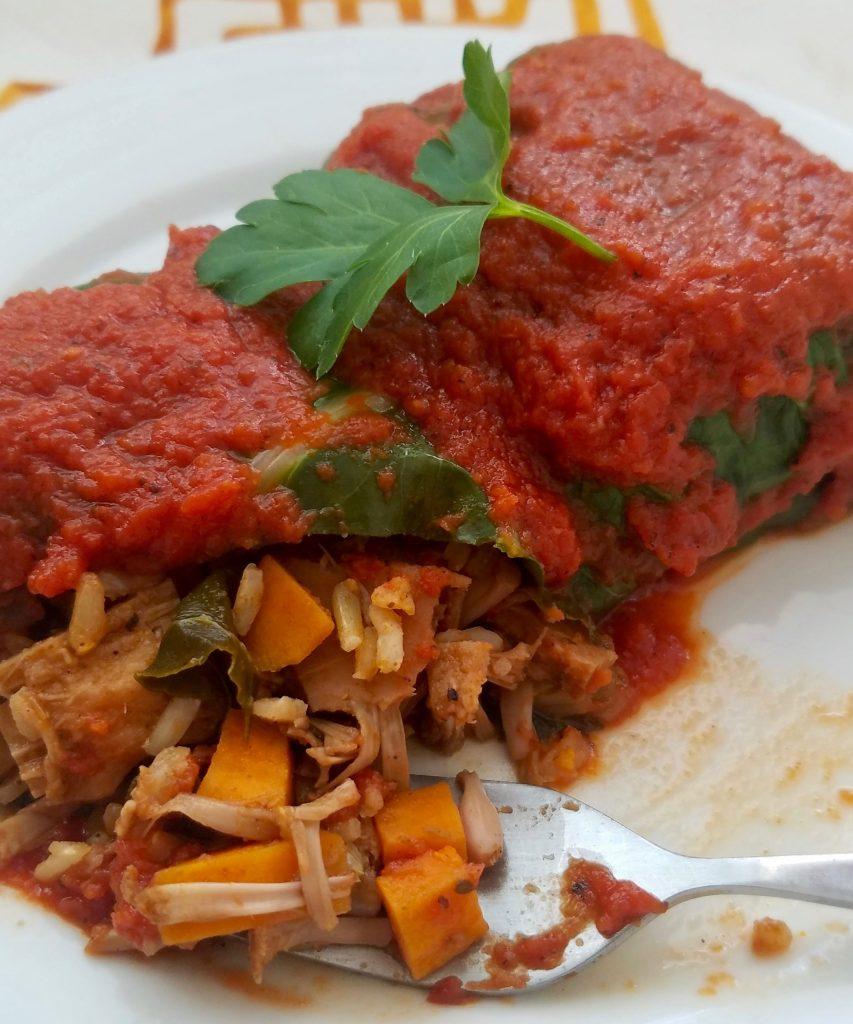 Vegan Meals with Collard Greens