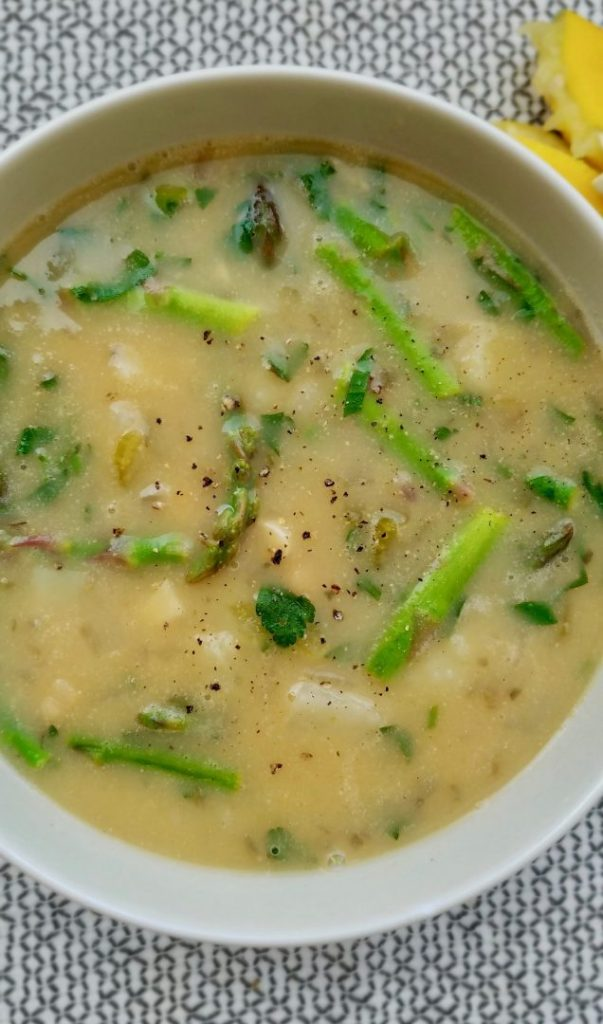 Easy chickpea soup vegan