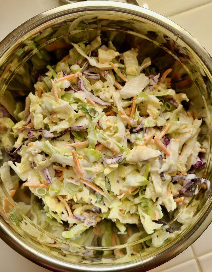 Vegan Coleslaw Recipe Vegan Mayo