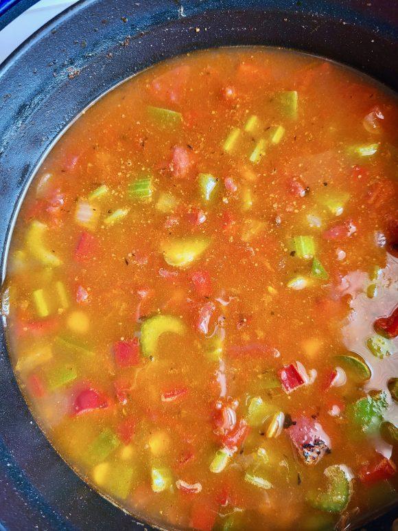 Black Eyed Pea Soup Vegan