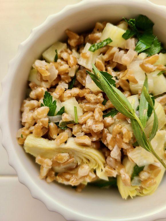 Vegetarian Farro Salad Recipes
